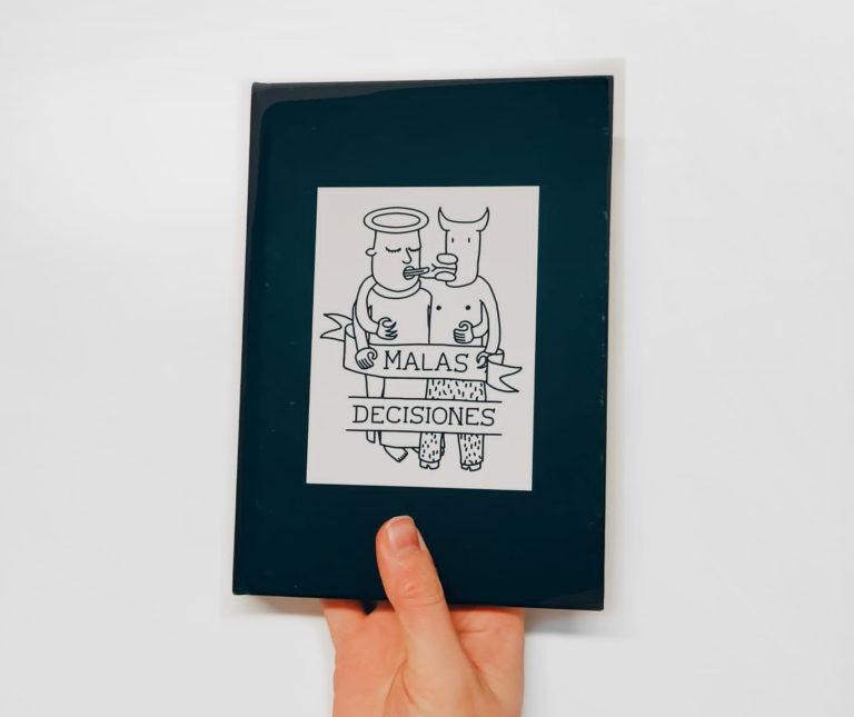 Malas Decisiones fue escrito e ilustrado por Joshy J y traducido por Lourdes Lorenzo.  Malas Decisiones está a la venta  aquí.