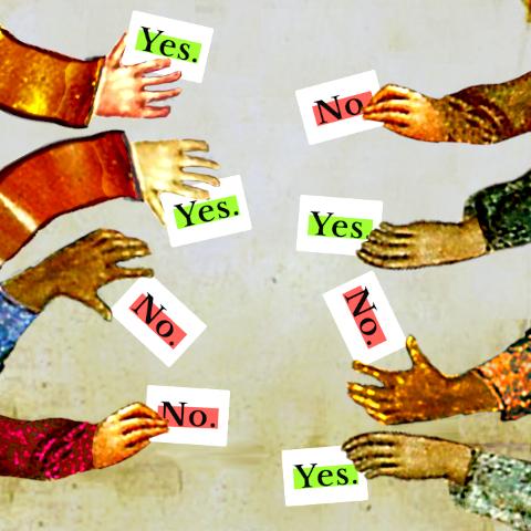 Las cartas se usan para:- Responder a las preguntas - Predecir las respuestas de los demás